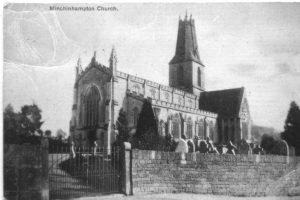Holy Trinity, Minchinhampton, before 1908
