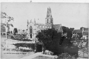 Church from Bell Lane House (c1905)