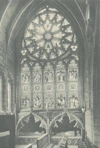 Rose Window in South Transept