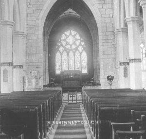 Interior of Holy Trinity Church (c1910)
