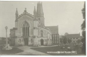 Western facade of Holy Trinity (post 1919)