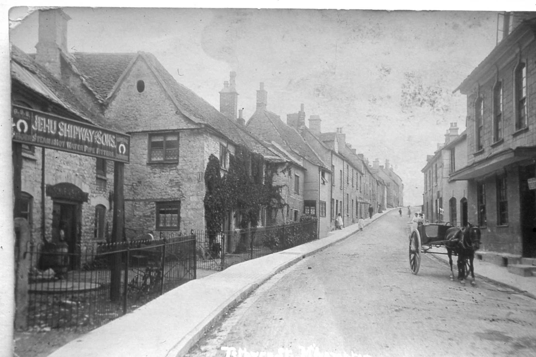 Post Office Collection Times >> Townscape – Minchinhampton Local History Group