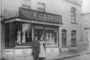 Butcher's Shop, West End c1908