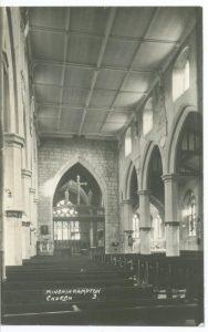Holy Trinity interior after 1919