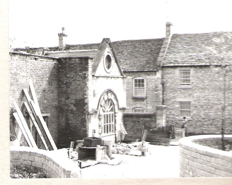 Restoration of the Trap House c1972