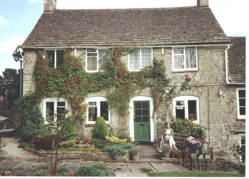Vestry Cottage in 2000