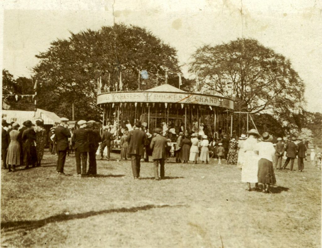 Funfair on the Great Park (1920s)