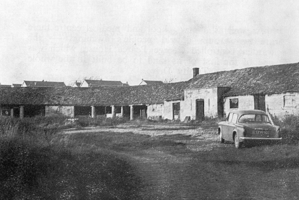 Farm buildings before conversion