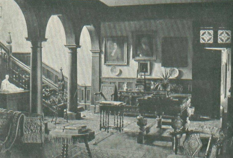 Interior of The Lammas during ownership of the Baynes family