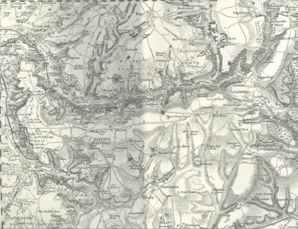 First Edition Ordnance Survey Map
