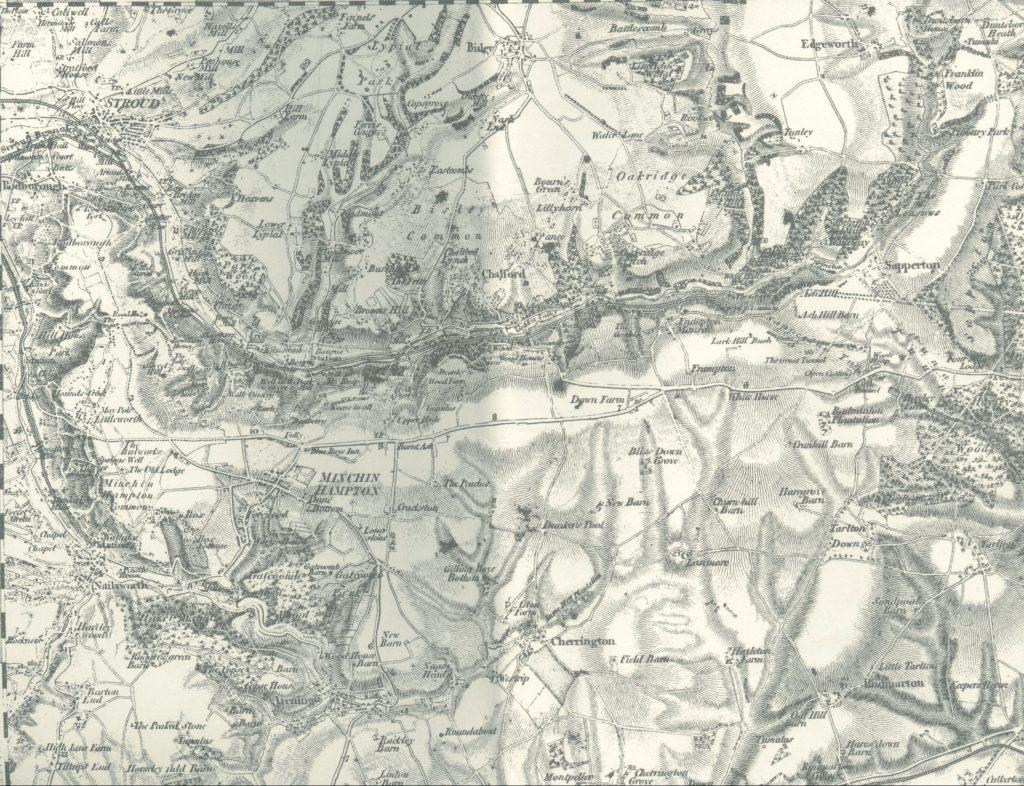 First Edition Ordnance Survey Map
