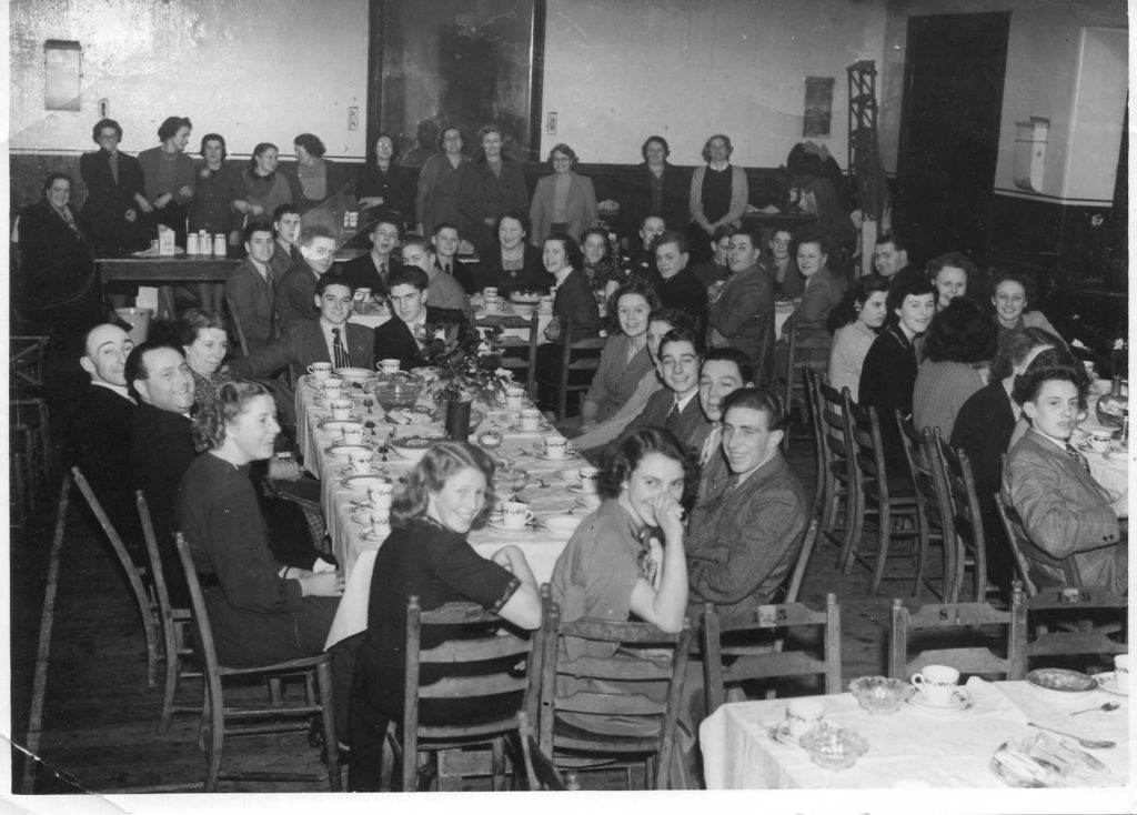 Youth Club in Market House c1949