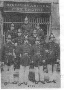 Minchinhampton Fire Brigade c1913
